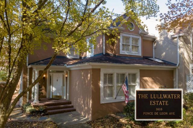 10 Lullwater Estate NE #10, Atlanta, GA 30307 (MLS #6106535) :: North Atlanta Home Team
