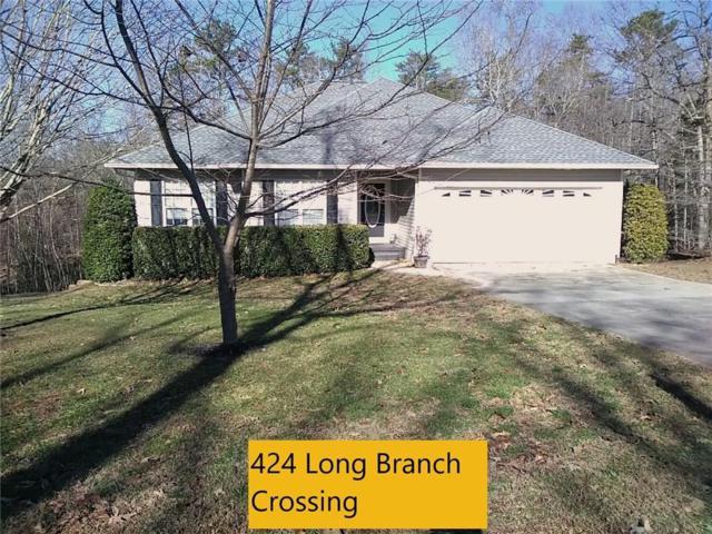 424 Long Branch Xing, Dahlonega, GA 30533 (MLS #6106963) :: North Atlanta Home Team