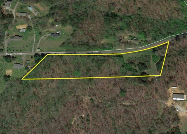 0 Carver Mill Road, Talking Rock, GA 30175 (MLS #6108195) :: Path & Post Real Estate