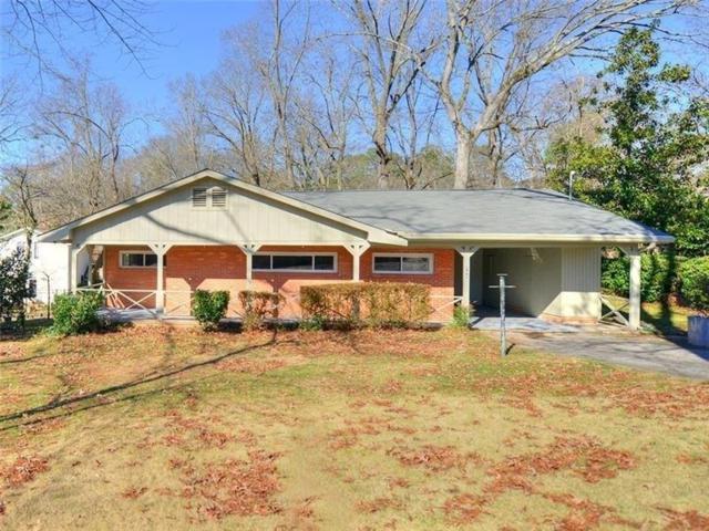 598 Castlewood Drive SE, Marietta, GA 30067 (MLS #6116554) :: North Atlanta Home Team