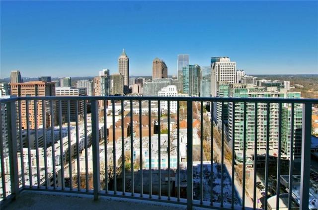 860 Peachtree Street NE #2503, Atlanta, GA 30308 (MLS #6117392) :: The North Georgia Group