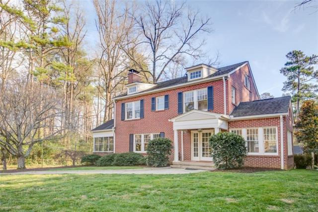 1401 Harvard Road NE, Atlanta, GA 30306 (MLS #6501937) :: North Atlanta Home Team