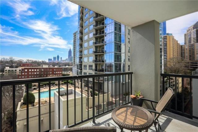 275 13th Street NE #701, Atlanta, GA 30309 (MLS #6503549) :: The Zac Team @ RE/MAX Metro Atlanta