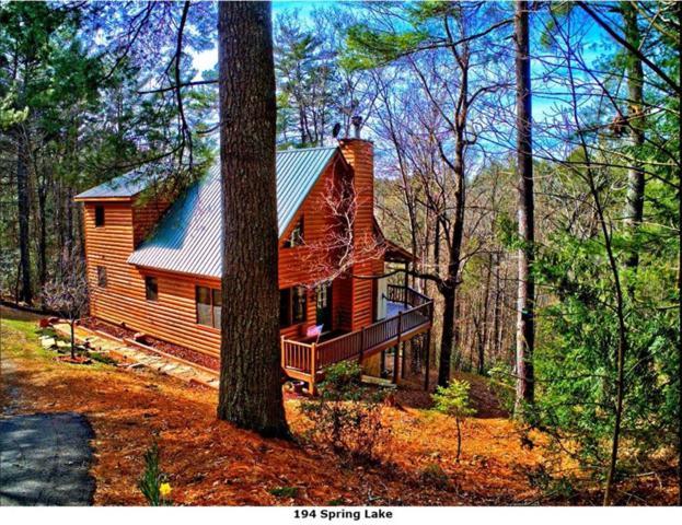 194 Spring Lake Drive, Ellijay, GA 30536 (MLS #6507370) :: Iconic Living Real Estate Professionals