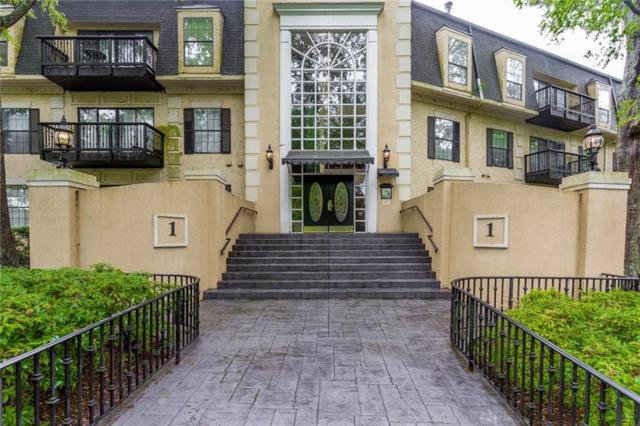 1316 Pine Heights Drive NE #1316, Atlanta, GA 30324 (MLS #6511059) :: RE/MAX Paramount Properties