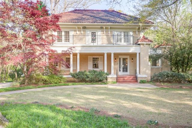 871 Springdale Road NE, Atlanta, GA 30306 (MLS #6531167) :: Iconic Living Real Estate Professionals