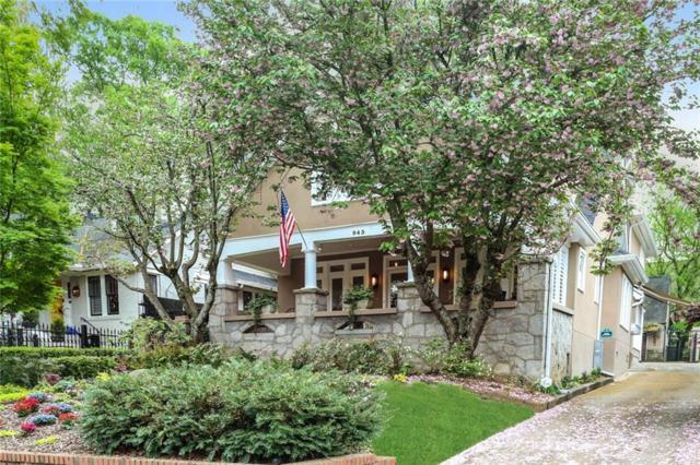 943 Saint Charles Avenue NE, Atlanta, GA 30306 (MLS #6534959) :: Iconic Living Real Estate Professionals