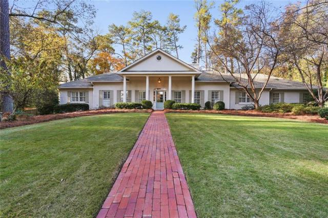 1365 Barron Court NW, Atlanta, GA 30327 (MLS #6538355) :: The Hinsons - Mike Hinson & Harriet Hinson