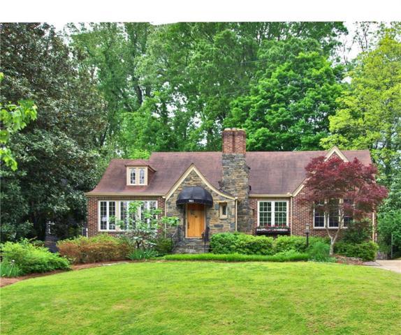 901 Plymouth Road NE, Atlanta, GA 30306 (MLS #6542516) :: Path & Post Real Estate
