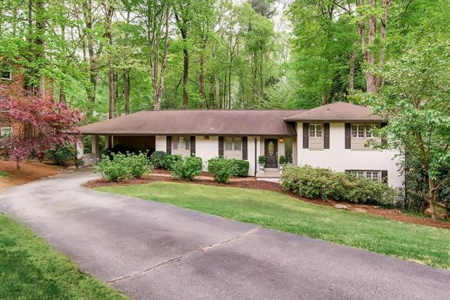 435 Forest Hills Drive NE, Atlanta, GA 30342 (MLS #6542951) :: The Zac Team @ RE/MAX Metro Atlanta