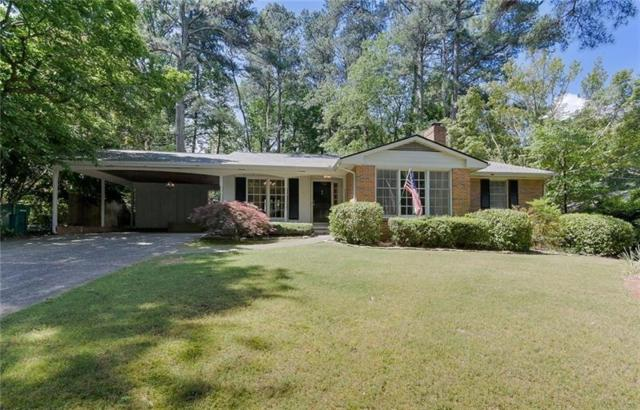 670 Carriage Drive, Atlanta, GA 30328 (MLS #6553979) :: The Zac Team @ RE/MAX Metro Atlanta