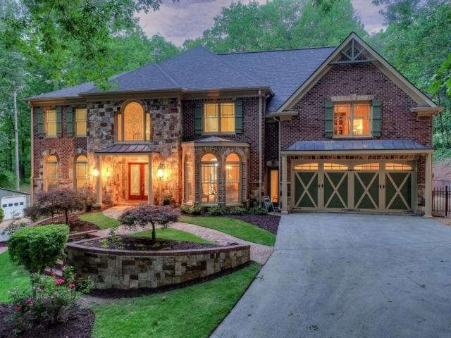 4955 Burnt Hickory Road NW, Kennesaw, GA 30152 (MLS #6555664) :: North Atlanta Home Team