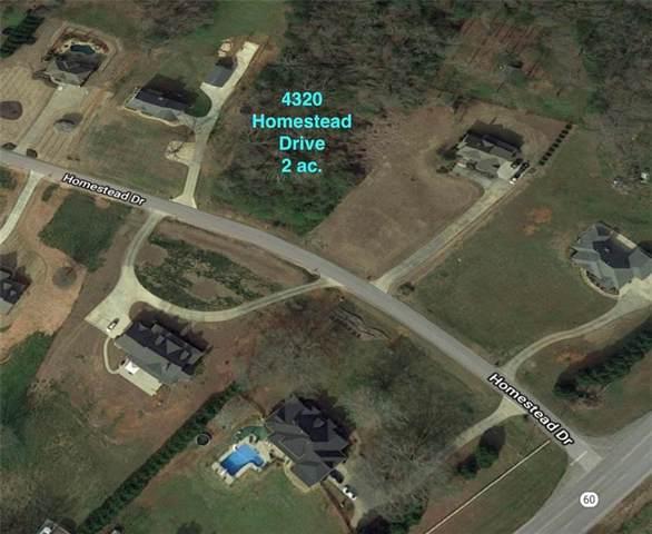 4320 Homestead Drive, Gainesville, GA 30506 (MLS #6562074) :: North Atlanta Home Team