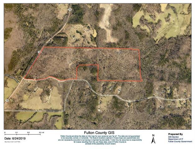 0 Campbellton Redwine Road, Chattahoochee Hills, GA 30268 (MLS #6574484) :: Kennesaw Life Real Estate