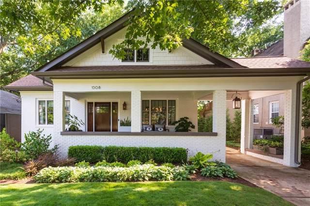 1308 N Morningside Drive NE, Atlanta, GA 30306 (MLS #6596896) :: Good Living Real Estate