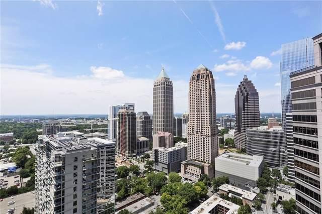 1080 Peachtree Street NE #2801, Atlanta, GA 30309 (MLS #6601431) :: Todd Lemoine Team