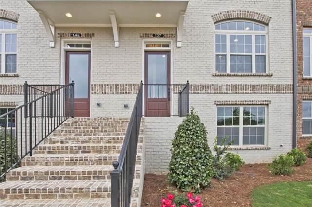 317 Marlowe Alley #120, Johns Creek, GA 30024 (MLS #6602942) :: North Atlanta Home Team