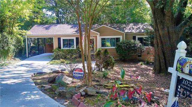 1022 Shepherds Lane NE, Atlanta, GA 30324 (MLS #6618147) :: The Zac Team @ RE/MAX Metro Atlanta