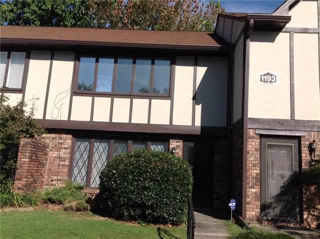 1193 SE Ashborough Drive SE C, Marietta, GA 30067 (MLS #6622133) :: North Atlanta Home Team