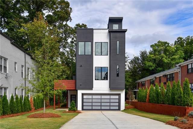 1010 Greenwood Avenue NE A, Atlanta, GA 30306 (MLS #6636486) :: Charlie Ballard Real Estate