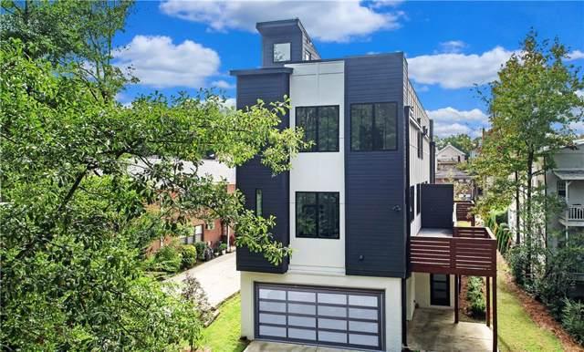 1010 Greenwood Avenue NE B, Atlanta, GA 30306 (MLS #6636535) :: Charlie Ballard Real Estate