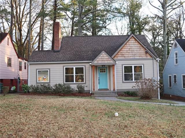 1700 Alvarado Terrace SW, Atlanta, GA 30310 (MLS #6654368) :: RE/MAX Prestige
