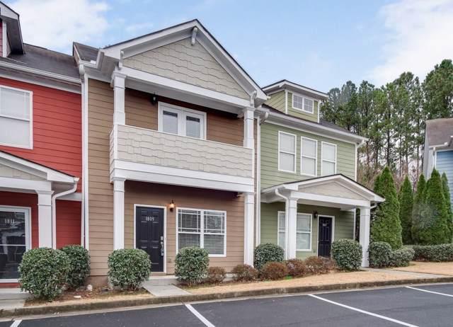 1809 Brookside Lay Circle #1809, Norcross, GA 30093 (MLS #6655612) :: North Atlanta Home Team