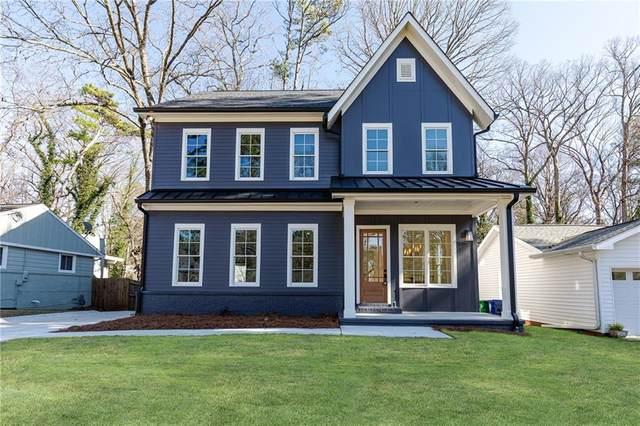 1099 Palafox Drive NE, Atlanta, GA 30324 (MLS #6667499) :: RE/MAX Paramount Properties
