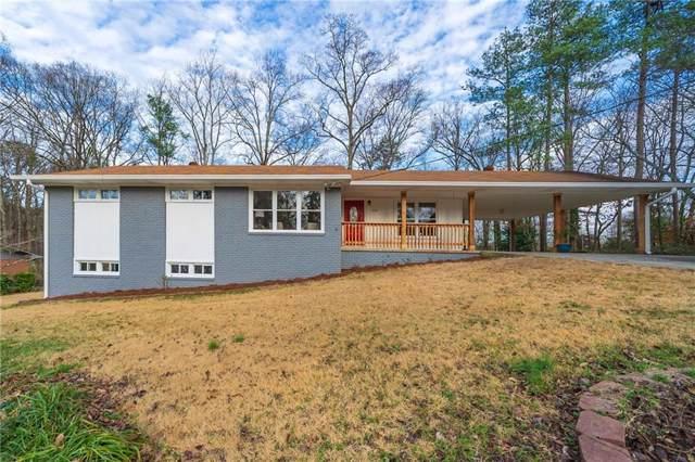 1233 Pinehurst Circle SE, Smyrna, GA 30080 (MLS #6668227) :: Keller Williams Realty Cityside