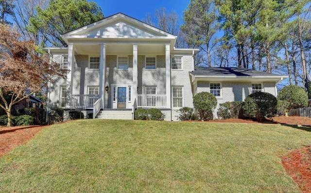 1614 Kings Down Circle, Dunwoody, GA 30338 (MLS #6668290) :: The North Georgia Group