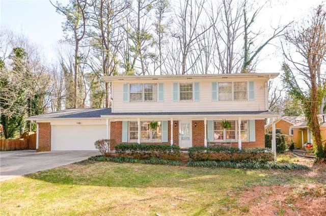 1404 Drayton Woods Drive, Tucker, GA 30084 (MLS #6671201) :: The Hinsons - Mike Hinson & Harriet Hinson