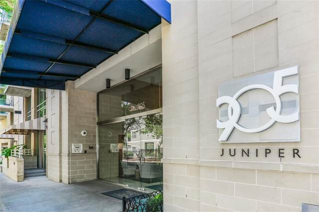 905 Juniper Street NE #701, Atlanta, GA 30309 (MLS #6682374) :: RE/MAX Prestige