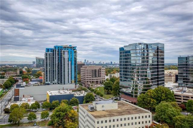 1280 W Peachtree Street NW #2302, Atlanta, GA 30309 (MLS #6684307) :: The Zac Team @ RE/MAX Metro Atlanta