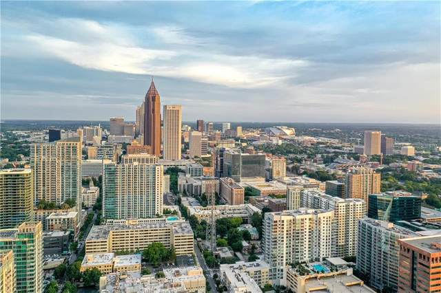 1065 Peachtree Street NE #3502, Atlanta, GA 30309 (MLS #6686437) :: The Zac Team @ RE/MAX Metro Atlanta