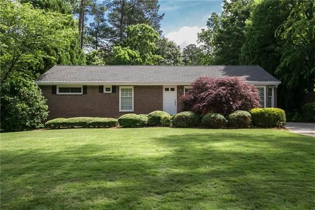 2701 Ashford Road NE, Brookhaven, GA 30319 (MLS #6693235) :: MyKB Partners, A Real Estate Knowledge Base