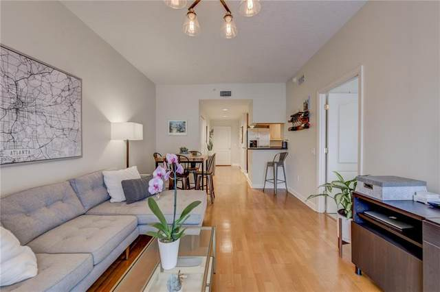 195 14th Street NE #1201, Atlanta, GA 30309 (MLS #6693261) :: The Zac Team @ RE/MAX Metro Atlanta