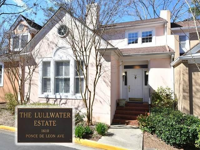 22 Lullwater Estate NE, Atlanta, GA 30307 (MLS #6695800) :: RE/MAX Paramount Properties