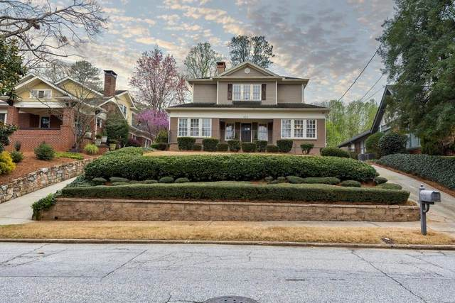 825 NE Yorkshire Road NE, Atlanta, GA 30306 (MLS #6697520) :: North Atlanta Home Team