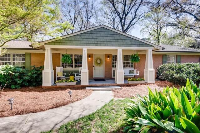 1645 Old Spring House Lane, Dunwoody, GA 30338 (MLS #6700313) :: Dillard and Company Realty Group