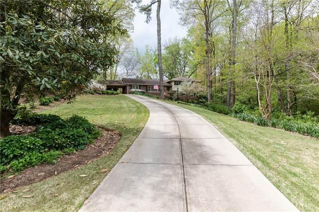 5110 Marbury Circle, Sandy Springs, GA 30327 (MLS #6704685) :: Path & Post Real Estate