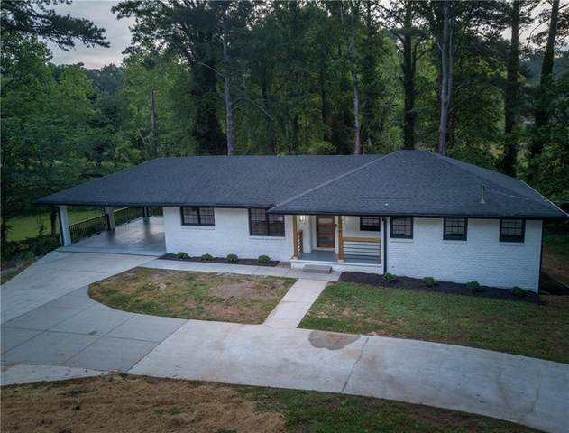 1024 S Indian Creek Drive, Stone Mountain, GA 30083 (MLS #6716999) :: North Atlanta Home Team