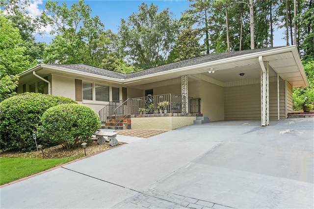 1169 Wild Creek Trail, Atlanta, GA 30324 (MLS #6727589) :: North Atlanta Home Team
