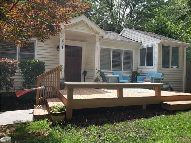 321 Clifton Road NE, Atlanta, GA 30307 (MLS #6732205) :: Dillard and Company Realty Group