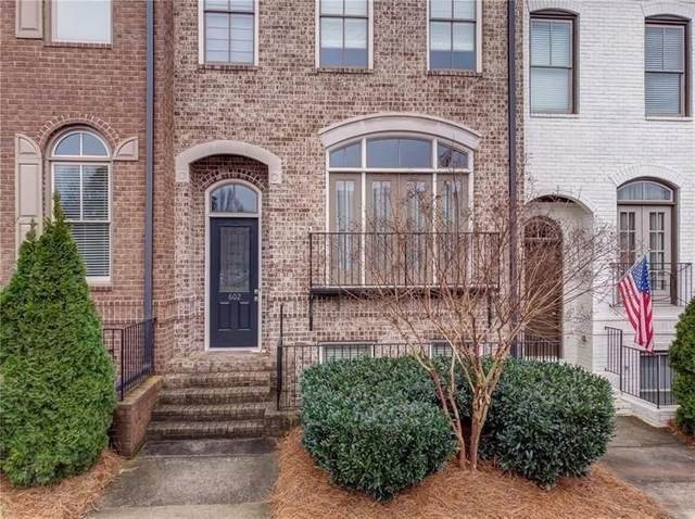 602 Village Park Drive NW #4, Kennesaw, GA 30144 (MLS #6741560) :: Kennesaw Life Real Estate