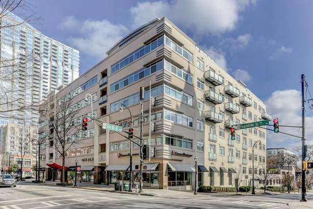 805 Peachtree Street NE #409, Atlanta, GA 30308 (MLS #6744758) :: North Atlanta Home Team