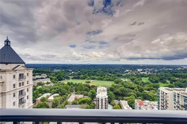 195 14th Street NE P305, Atlanta, GA 30309 (MLS #6748503) :: North Atlanta Home Team