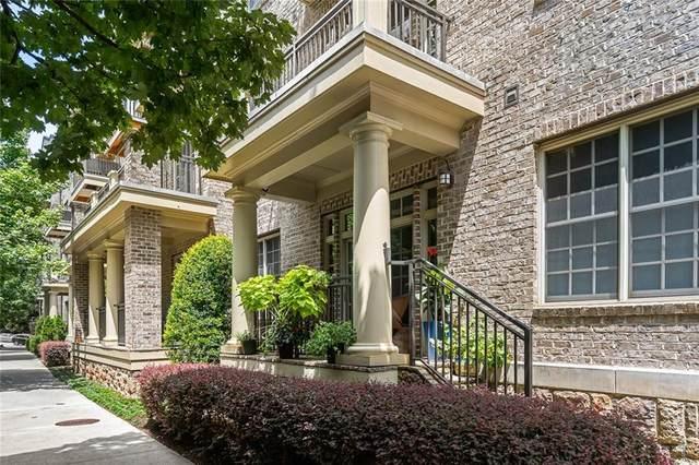 1055 Piedmont Avenue NE #113, Atlanta, GA 30309 (MLS #6752656) :: Vicki Dyer Real Estate