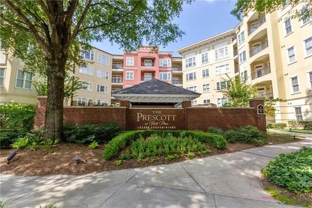 11 Perimeter Center E #1013, Atlanta, GA 30346 (MLS #6759586) :: Kennesaw Life Real Estate