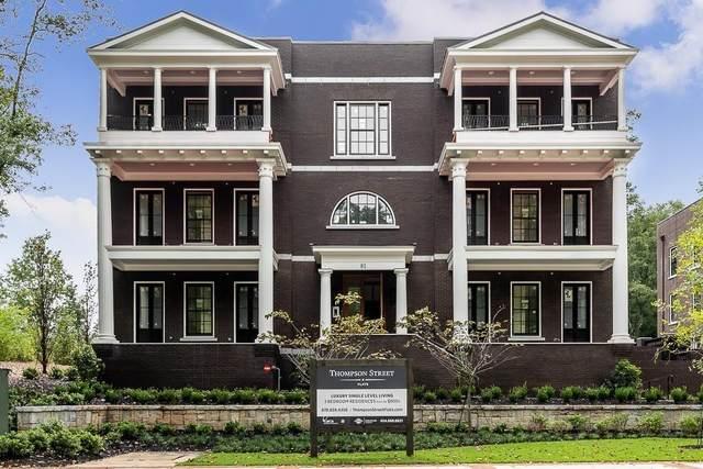 81 Thompson Street #201, Alpharetta, GA 30009 (MLS #6764340) :: Kennesaw Life Real Estate