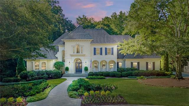 740 Conway Glen Drive NW, Atlanta, GA 30327 (MLS #6773122) :: The Hinsons - Mike Hinson & Harriet Hinson